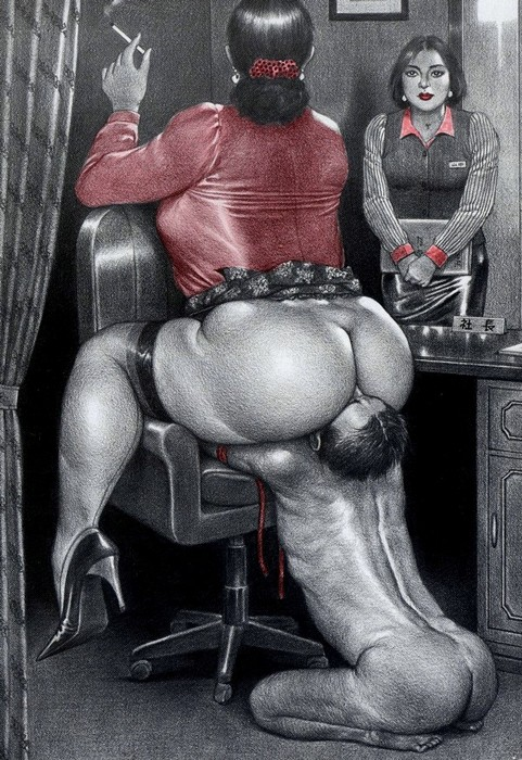 Эротические рисунки наоми харукава фото 30-931